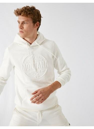 Koton Sweatshirt Beyaz
